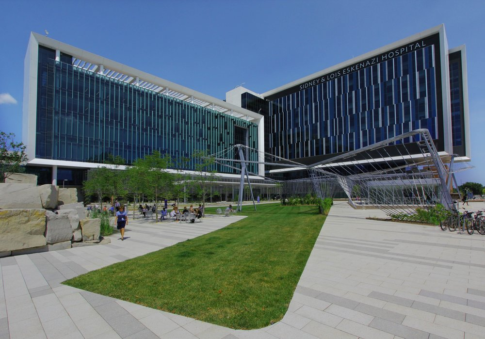 The Eskenazi Health Campus. Photo courtesy of Eskenazi Health.