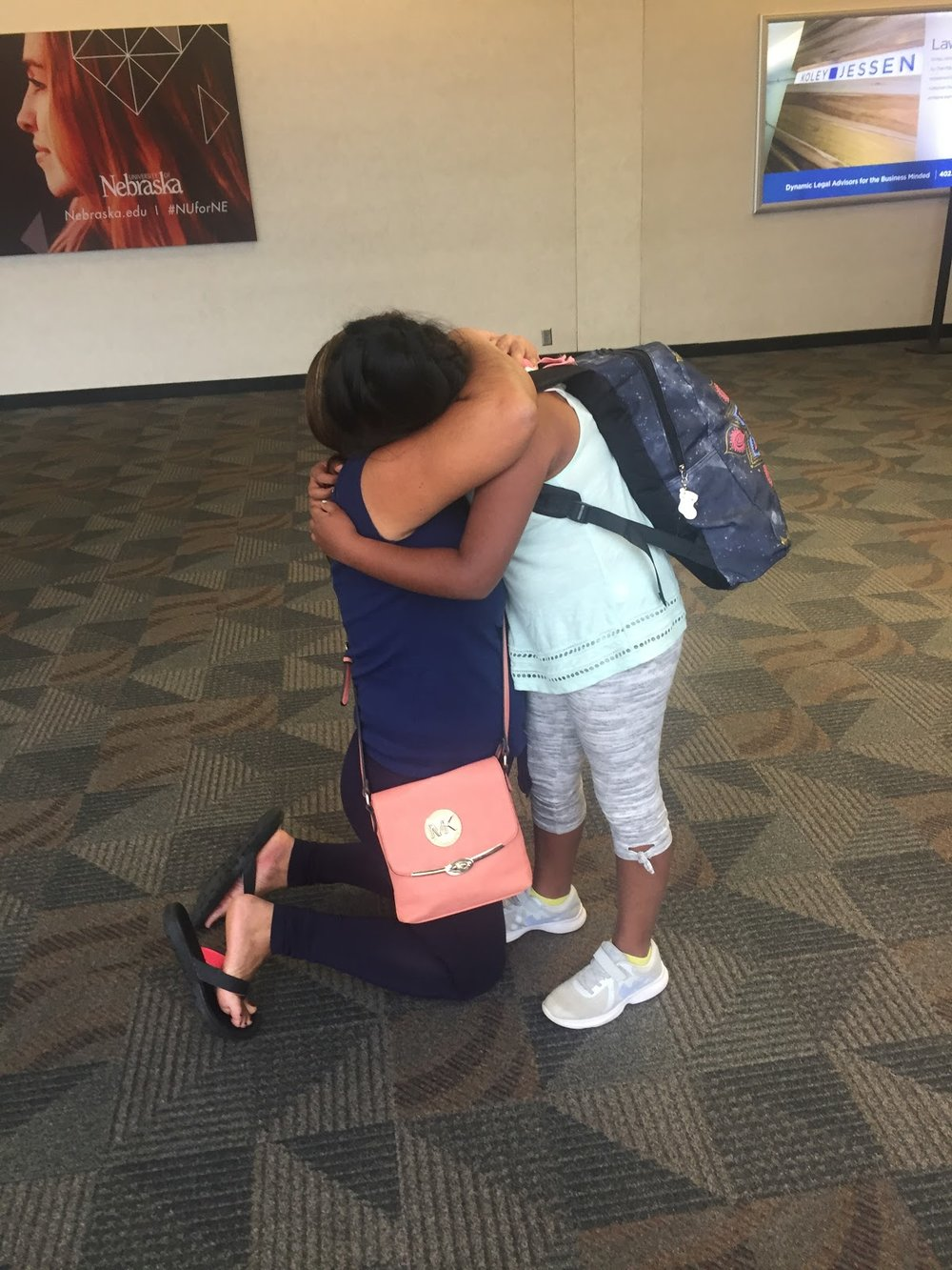 Casa de Paz reunites mom with daughter. Photo courtesy of the author.