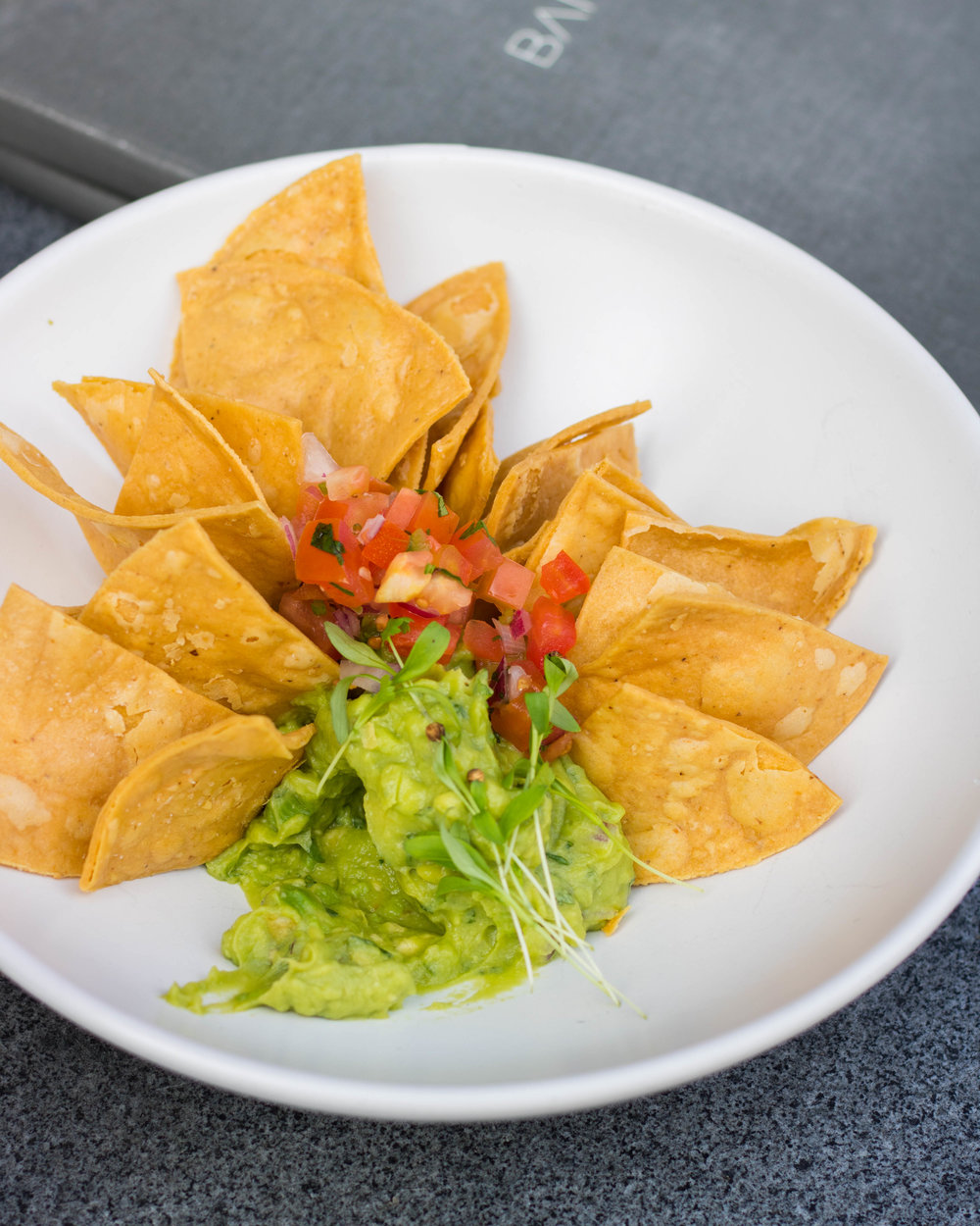 Chips and Guacamole Starter