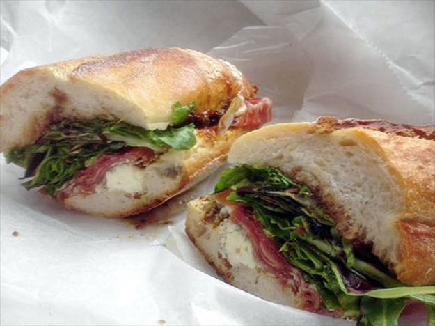 A Sandwich a Day: The Blue Pig & Fig at Pastoral (Serious Eats) -