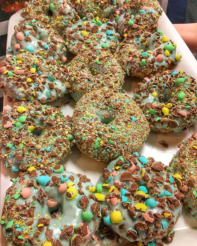Pre Order for donuts is ready to go at ratiocoffee.ca ! These bad boys and many other Easter donuts will be available.