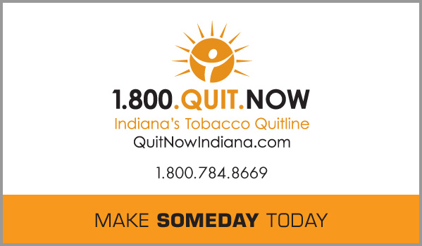 Quit Now Indiana Business Cards