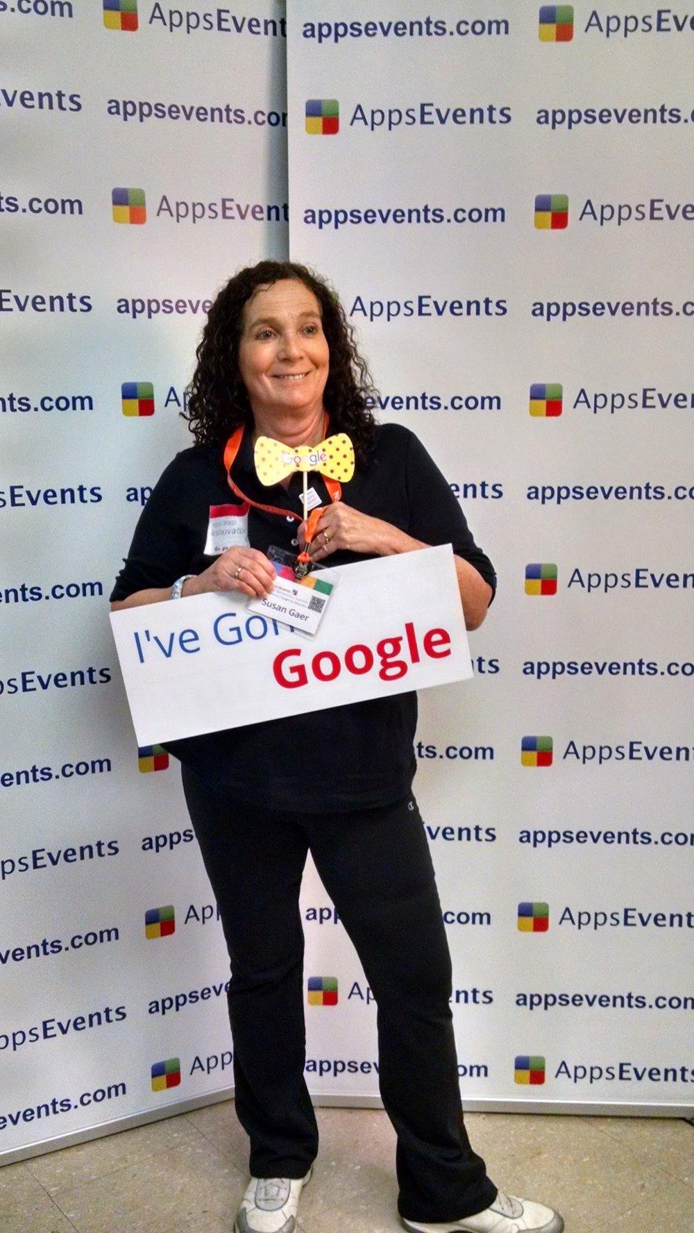 Susan Gaer, Google Innovator