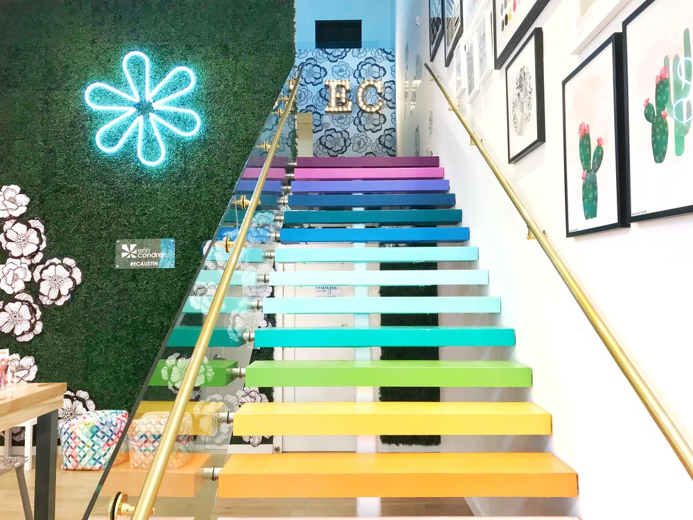 Here's the stairway to planner heaven in all of its glory.