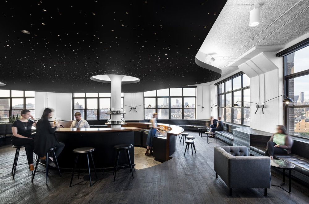 The Squarespace offices in NYC.