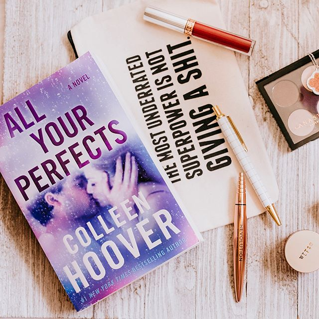 July favorites are here! Ok, kinda July, a little late, and sneaking in a non YA book this month because I think you might love it as much as I do!  Let's get started! 📖 Can I say how much I love @colleenhoover's  ALL YOUR PERFECTS? It's an adult book from @atriabooks that just came out & it's about marriage, regrets & mistakes. it is full of feels. you will cry your sweet little eyes out. Just warning you! Also, you'll love it!  Trust! 🖊 A great affordable new eyeliner from @makeuprevolution is their Flick felt tip one w the pretty rose gold packaging! It's so black & so easy to use! I just love my winged eye w this! 💐I'm not huge on scents but this spray from @victoriassecret is divine & so summery! It's this tropical nice smell of the summer! I'm a sucker for that pretty ombré packaging! Lol 💄I'm also a sucker for great deals & I took advantage of @sephora's sale of @anastasiabeverlyhills lip products! But 1 get 1 free you said? Yup!!! I grabbed this perfect red! 👁 I also bought a $1 empty palette & $8 Sephora singles. made the perfect everyday little quad! Obsessed!!! 💌I'm also obsessed w/ local box subscription @boxofhappies, especially this adorable little necklace! Box of Happies is a box of awesome cool products from Etsy & Etsy-type artisans all handmade & beautiful & unique! Go check them out please! 💝Ugh I hopped on the @fentybeauty train & have been trying and so far liking the eye primer! It's actually really good! ☺️I love me a good blush & I love @tjmaxx & their beauty products section (though there's some things I should warn you about so DM me if you're curious) so I found this @stilacosmetics gem, a liquid blush/stain for a fresh look especially in days I wear little makeup & need some color on my cheeks! Also got it for such a freaking steal! * Let me know what your faves were last month! Books, products, restaurants (especially here in Atlanta)! What are you loving and discovering these days?🤩 * * #beautyfavorites #favebook #julyfavorites #colleenhoover #cohort #allyourperfects #romancebooks #makeuprevolution #fentybeauty #atlanta #ilovemakeup #bookishfeatures #bookishlove #lovebooks #victoriassecret #atlantaphotographer