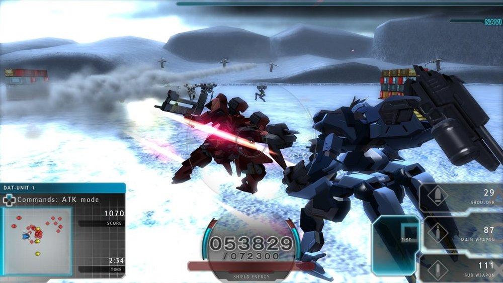 Assault Gunners Snow