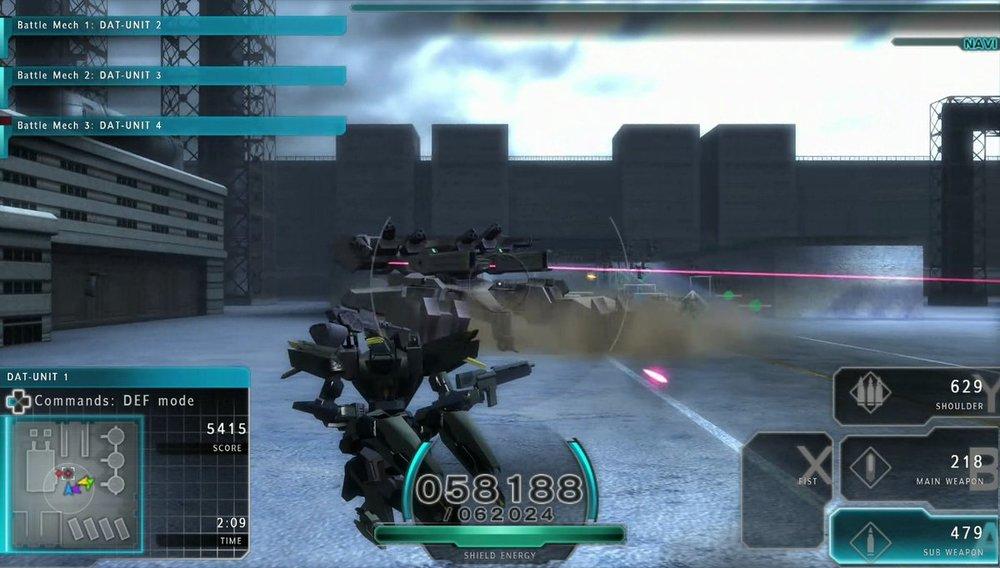 Assault Gunners Snow Boss