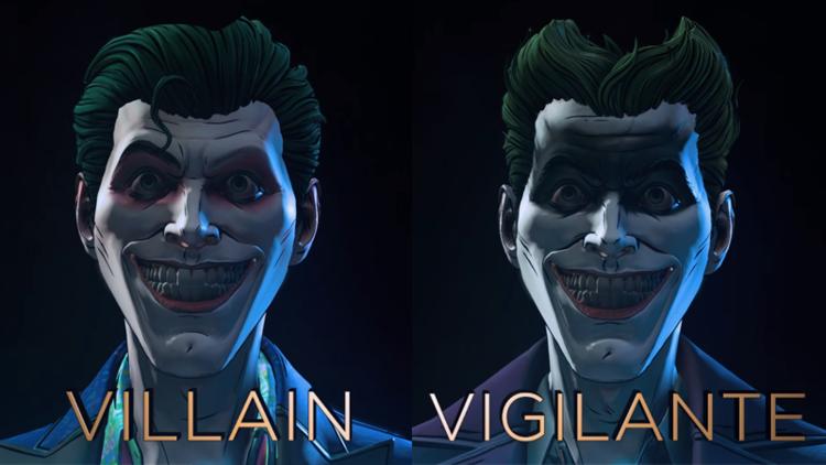 batman the enemy within joker s villain or vigilante trailer