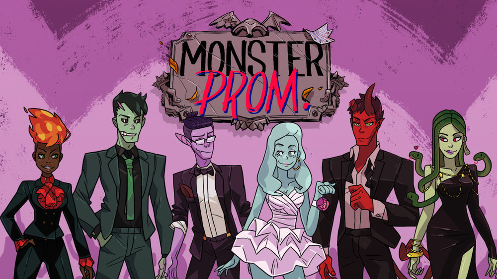Monster Prom Logo