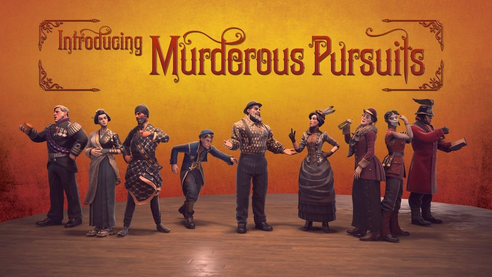 Introducing Murderous Pursuits