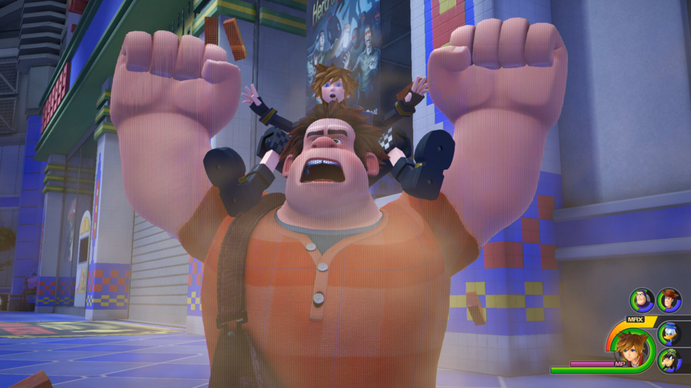 Kingdom Hearts III Gameplay