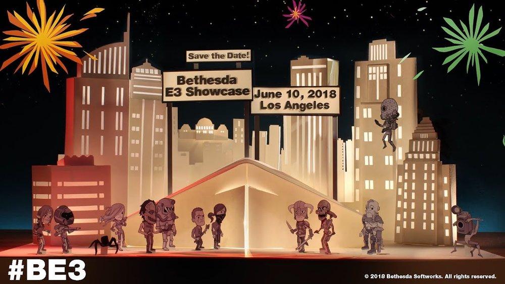 BETHESDA E3 2018 CONFERENCE