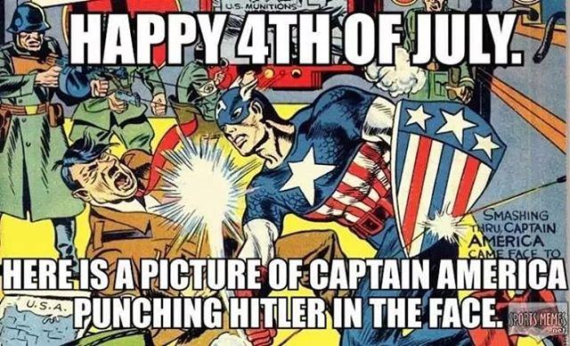 Happy birthday America!! Enjoy the fireworks and burgers!  #Happy4thofJuly #HappyBirthdayAmerica #IndependanceDay #FourthofJuly2018 #Patriotism #America #CaptainAmerica #fireworks #4thJuly #virtualhaven