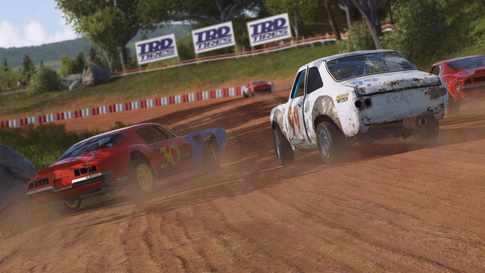 wreckfest racing destruction