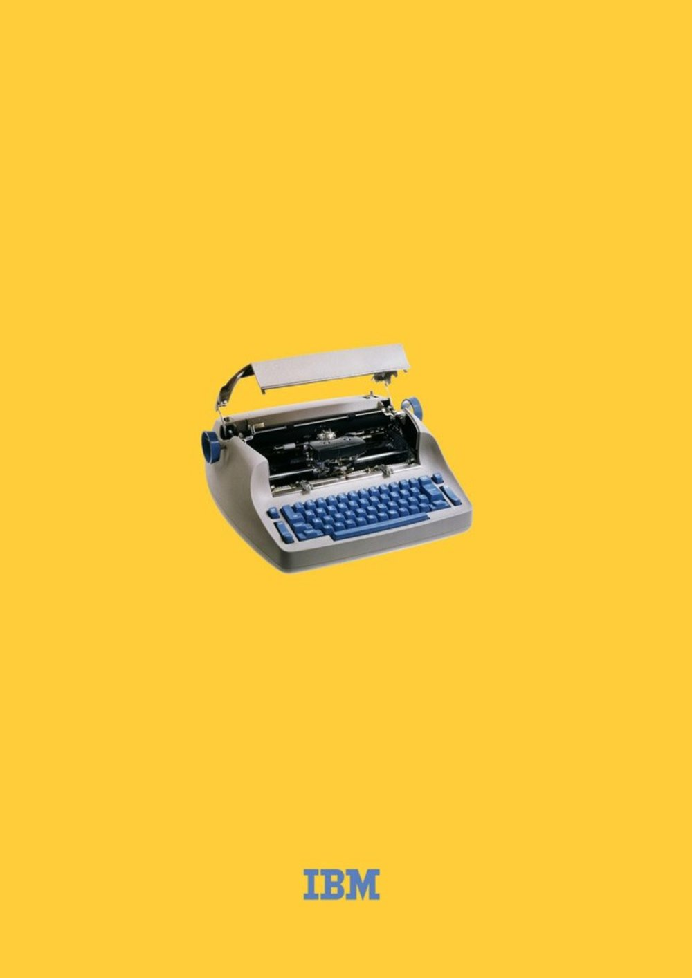 IBM Selectric - Wolff Olins, Su Murphy ~ 2014Poster