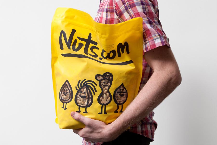 Nuts.com - Pentagram, Michael Bierut ~ 2013Packaging