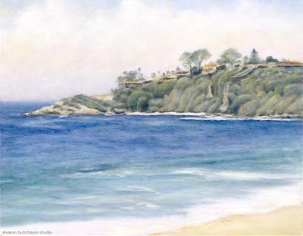 """Salt Creek - 23"""" x 28""""oil on canvasavailable at Elizabeth Benefield"""