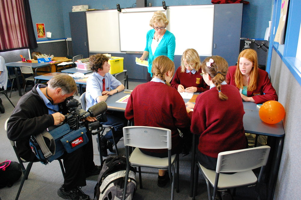 """Championing Dyslexia"" on TVNZ."