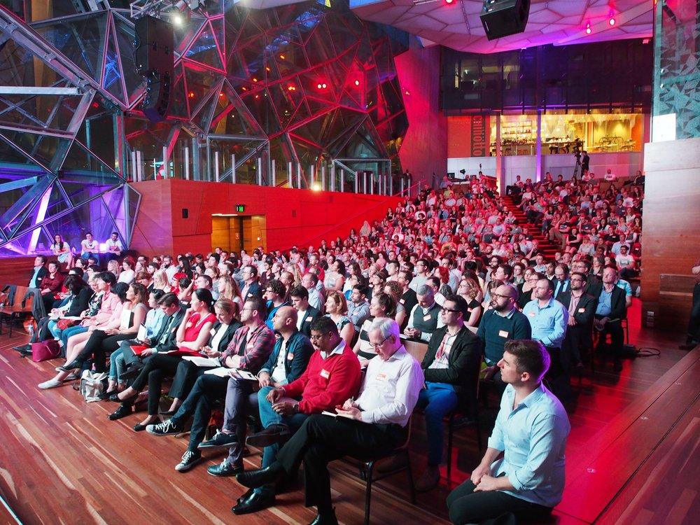Dr Jason Fox hosts 99U Local: Australia