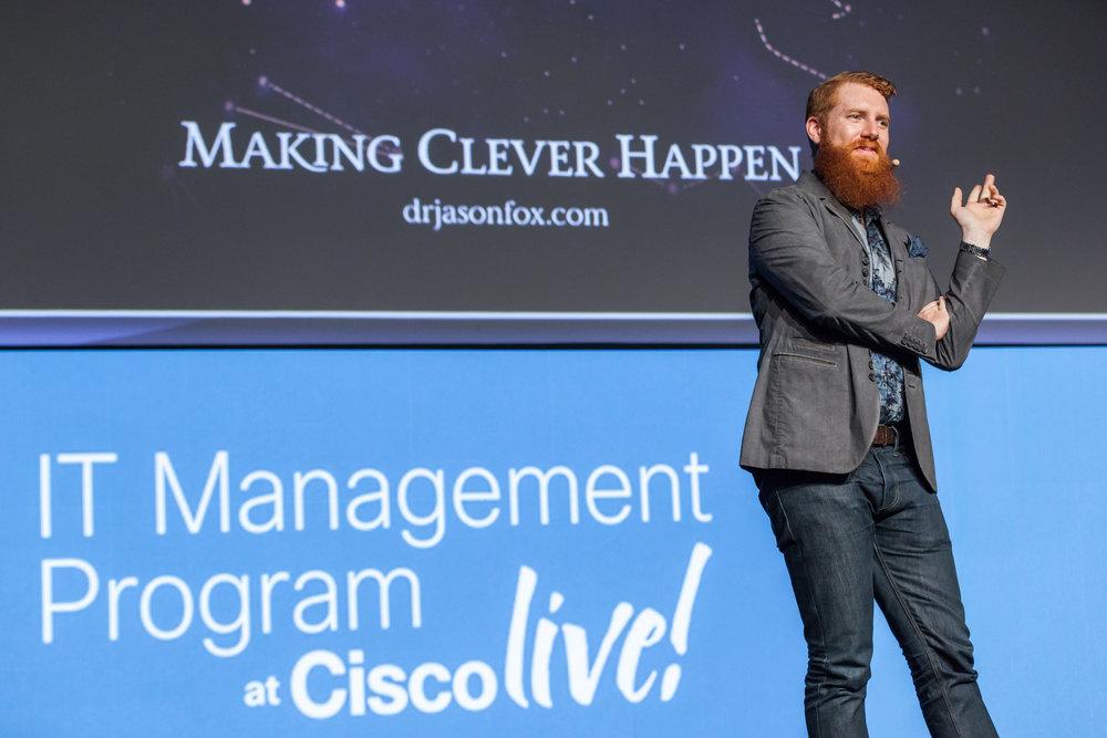 Dr Jason Fox motivational speaker for IT Management