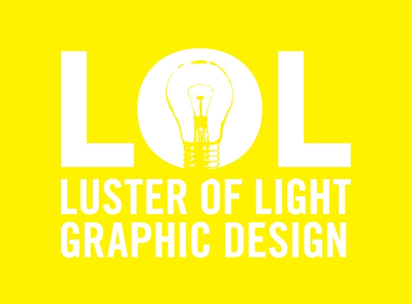 Luster of Light Graphic Design