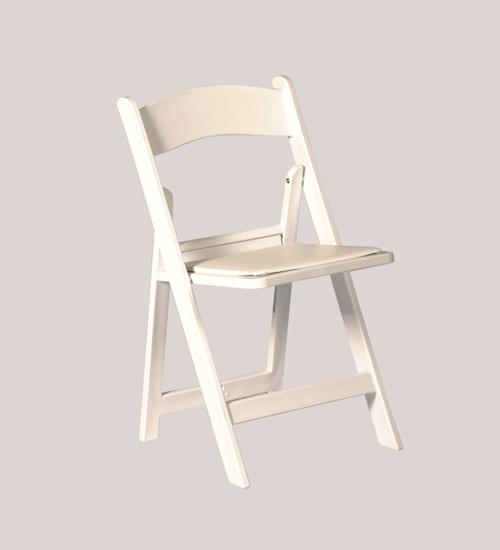 White Americana Chair