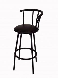 Black Swivel Bar Stool