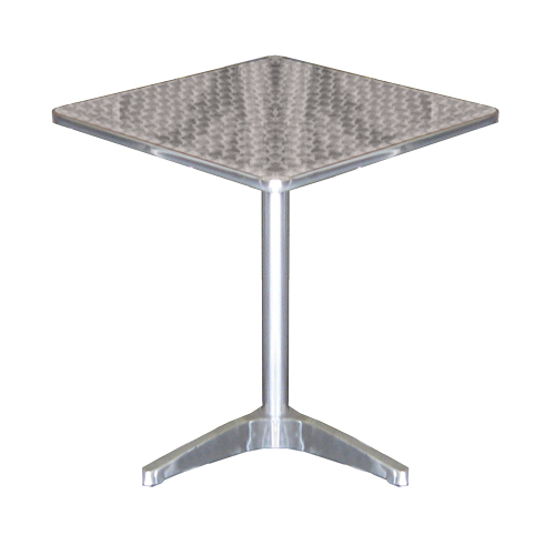 Square Metal Cafe Table