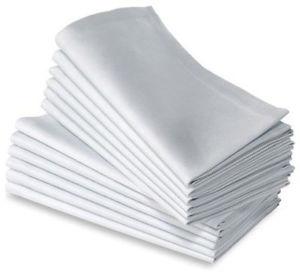 Linen Napkins - Black or White
