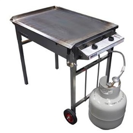 BBQ with Gas Bottle
