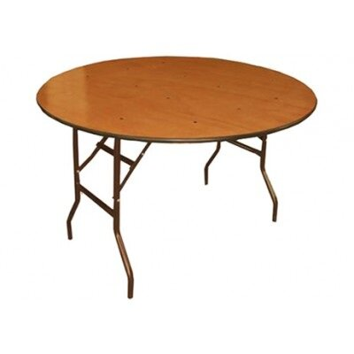 1.8m Round Timber Table