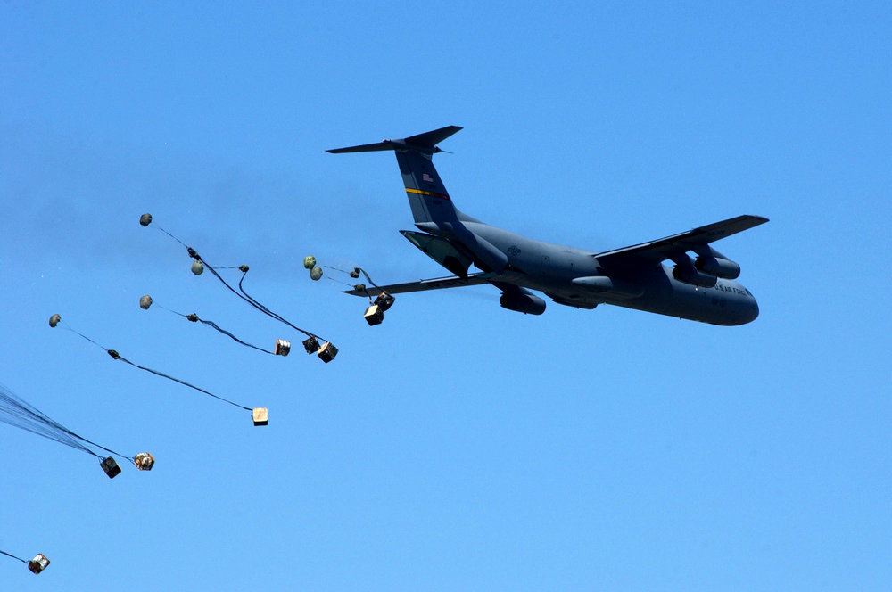 C-141B CDS Airdrop