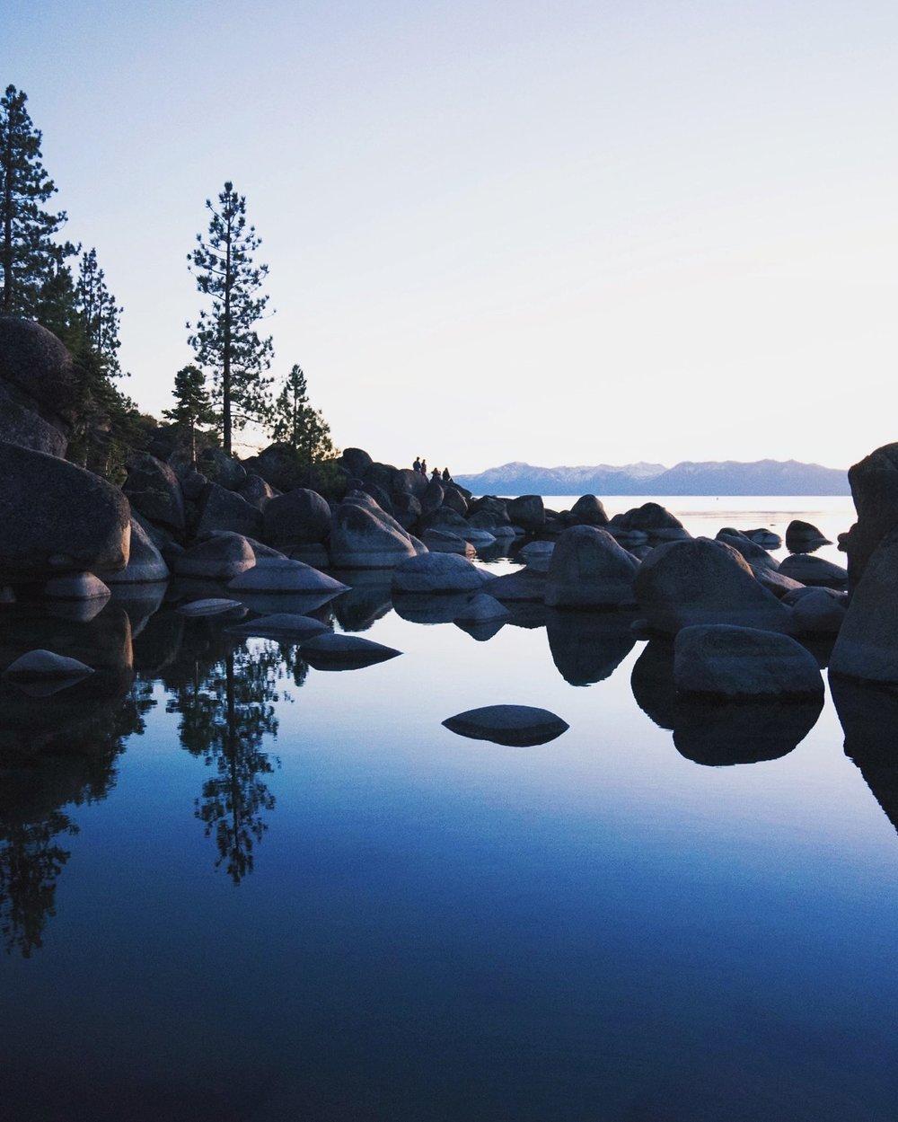 Lake Tahoe Relfection