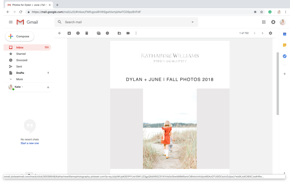 When your final images are ready, an email will pop up in your in-box and when you open it, it will look something like this^^^^.