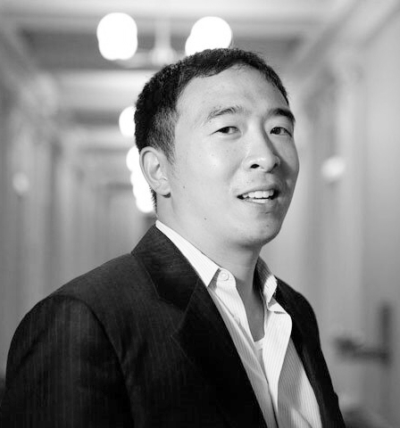 Andrew Yang is an entrepreneur and author running for President as a Democrat in 2020. In 2011 he founded Venture for America, a national entrepreneurship fellowship, and spent the last 6 years helping to create more than 2,500 jobs in cities like Cleveland, Detroit, and Pittsburgh. When Andrew realized that new technologies like artificial intelligence and automation threatened to eliminate one-third of all American jobs, he knew the nation needed a leader with a vision for our radically different future. In The War on Normal People (April 2018), he explains the mounting crisis and makes the case for a Universal Basic Income: $1,000 a month for every American adult, no strings attached, one of the central pillars of his policy platform.