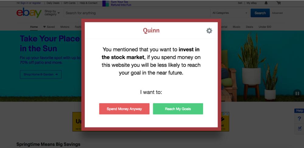 Quinn Google Chrome Browser Extension
