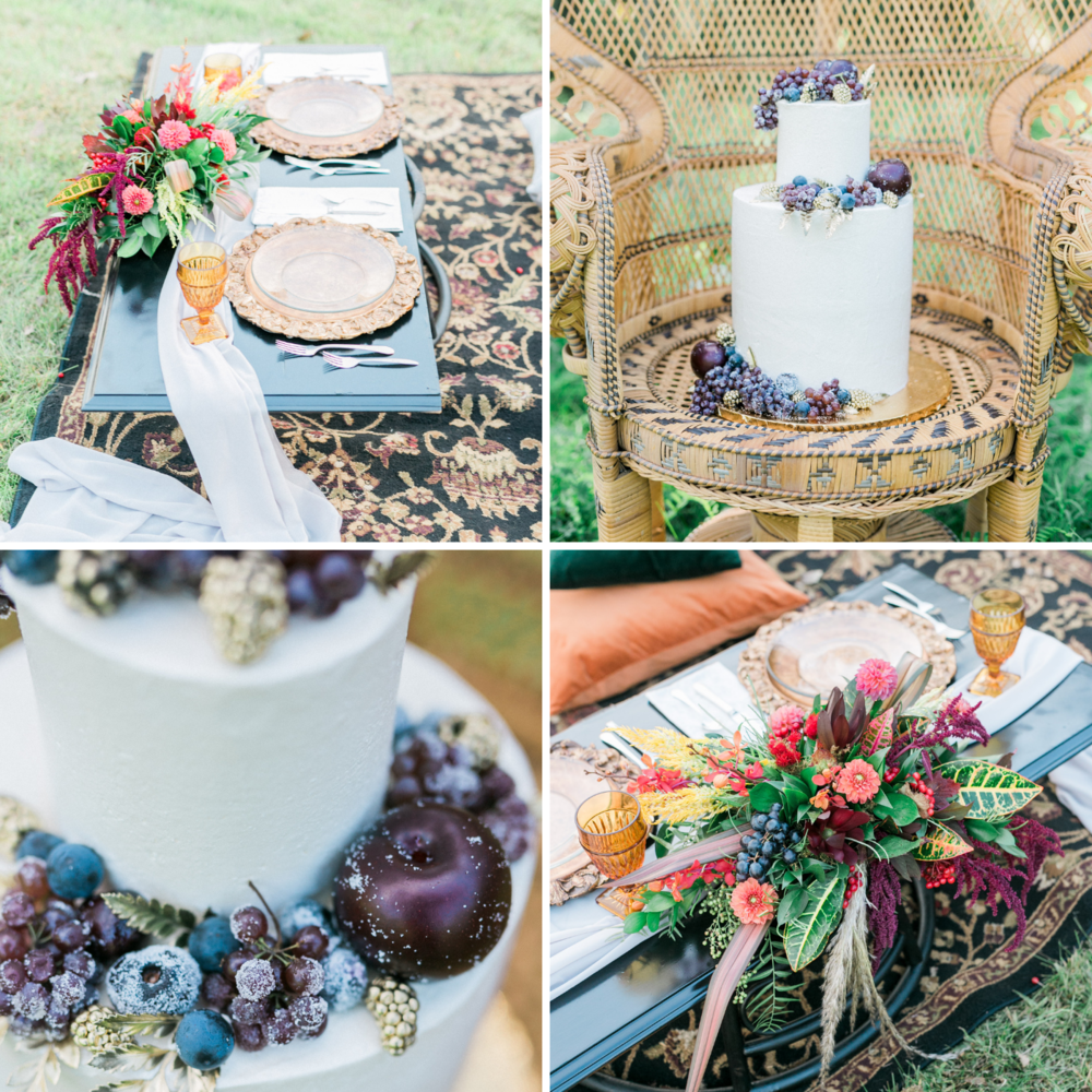 Flowers:   Blooms by Brandi   Cake:   Rosie's Coffee Bar & Bakery   Photography:     Miriam Bulcher Photography