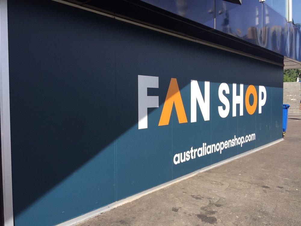 The Undercroft store signage