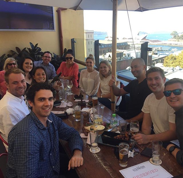 Well over due post summer lunch with the @infiniteretail venue team. #sydneyharbour #celebratethewins