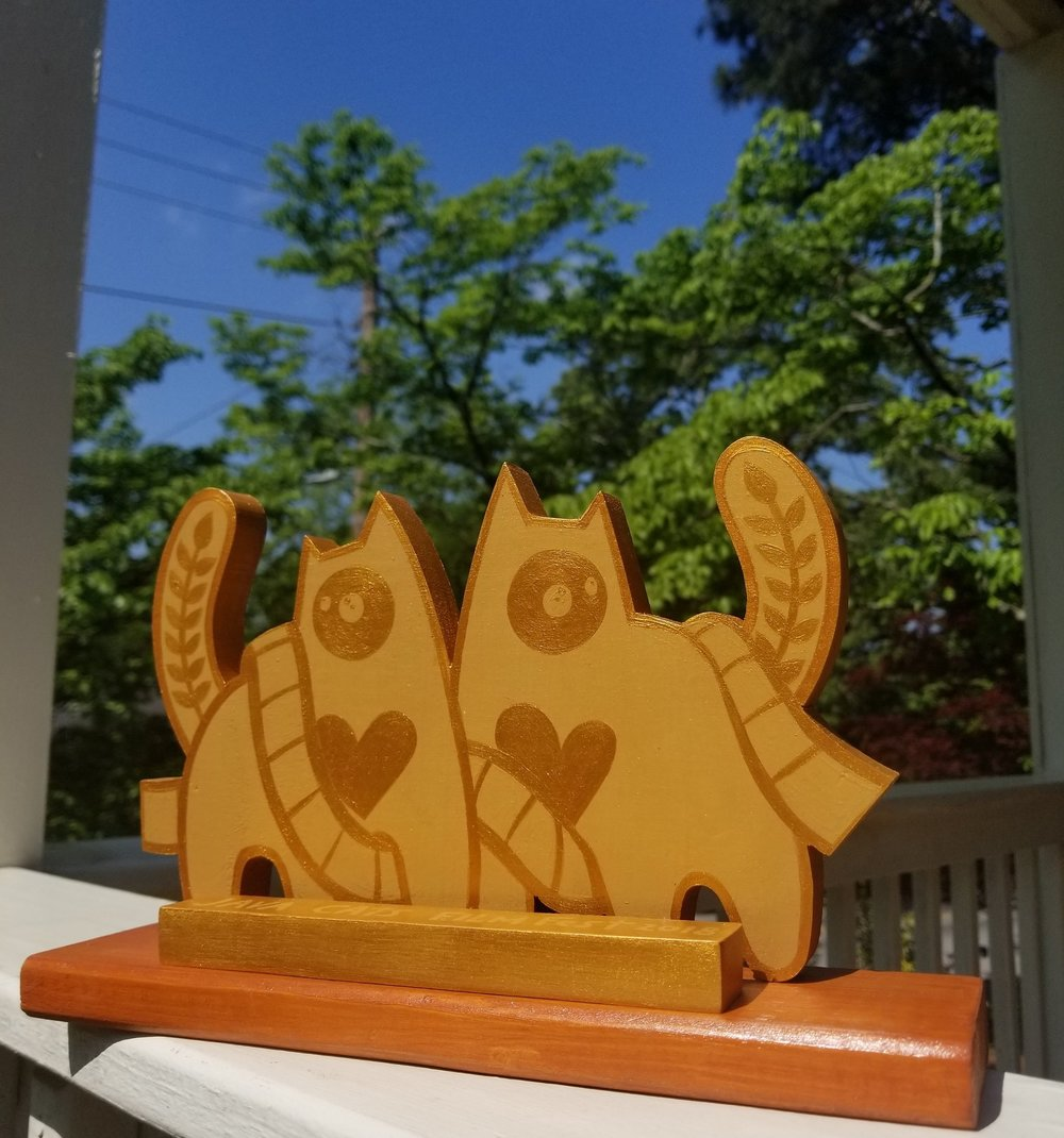 Java Cats Film Fest Trophy