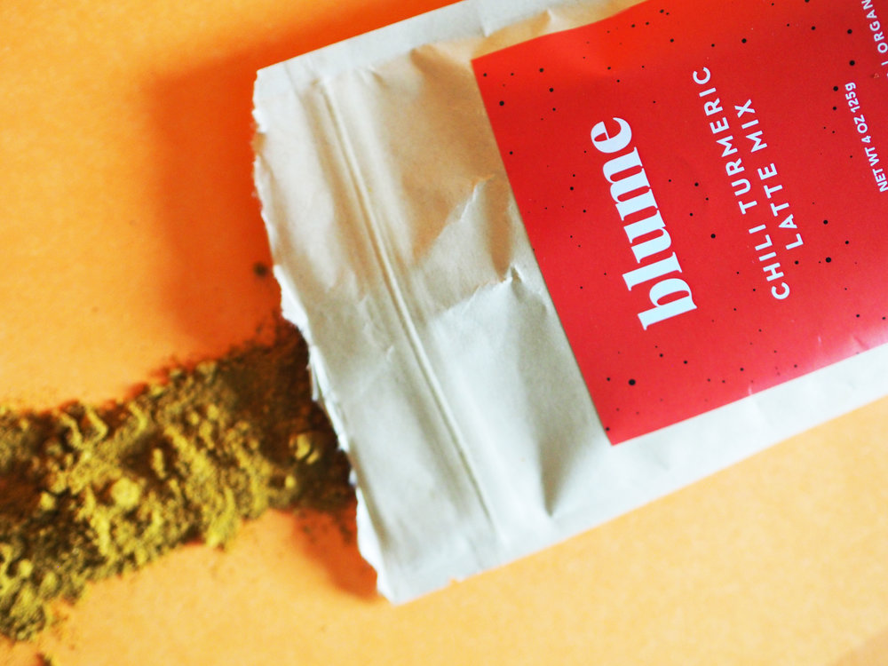 Blume Turmeric and Chili Latter Mix Made in Vancouver