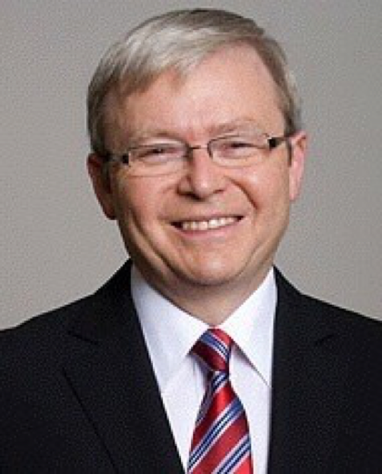 The Honorable Kevin Rudd   Hon. Rudd served as Australia's 26th Prime Minister (2007-2010, 2013) and as Foreign Minister (2010-2012).
