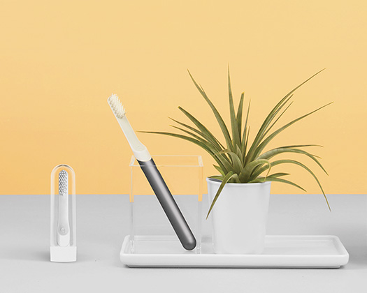 Toothbrush subscription - $10+ - QuipTreat your teeth to the sleekest electric toothbrush on the market. With a subscription, you get a new head, toothpaste, and battery each month, so you never have to think about it!