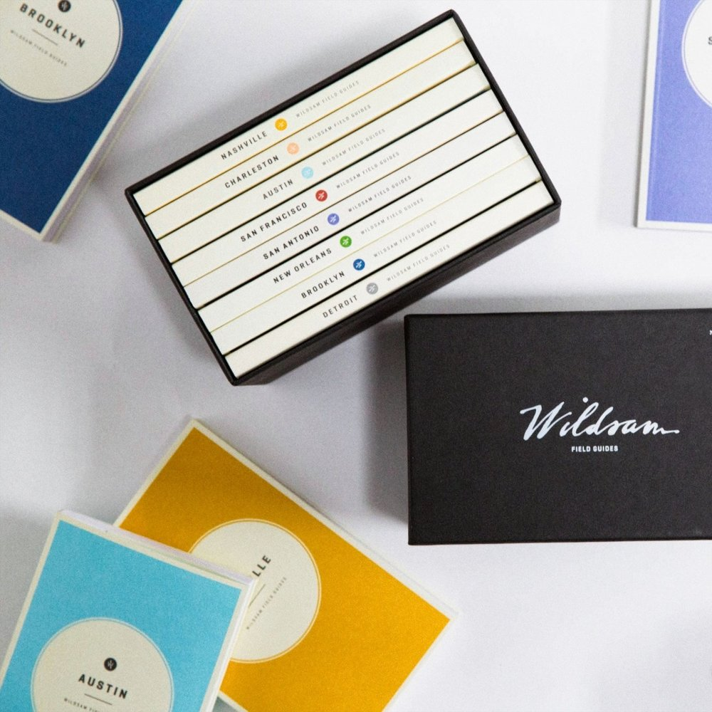 City Field Guides - $144 - WildsamFor the couple with a serious case of wanderlust, this wonderful boxed set of city guides is not only a great keepsake, it's inspiration for future adventures.