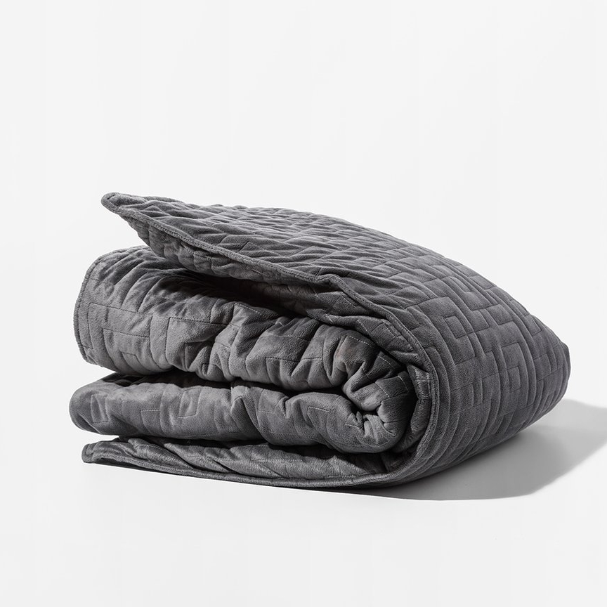 Weighted Blanket - $249+ - Gravity BlanketsAfter the whirlwind of a wedding and a honeymoon, reduce their stress and anxiety with a weighted blanket. Gravity Blankets can help provide a deep, restful sleep. Technically, you're not supposed to share, so get your pals each one or encourage them to alternate (or break the rules!).