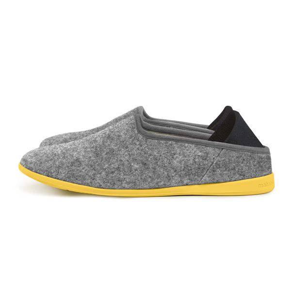 Indoor/Outdoor Slippers - $95 - ManhabisLike our first suggestion, whether they have feet or not is probably something you know. If they do, then there's no doubt they need a versatile slipper with a removable bottom for indoor/outdoor use.