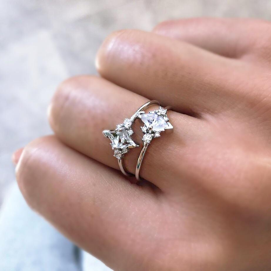 Statement Ring - $55 - Carrie ElizabethFor beautiful jewelry that doesn't look like what everyone else has, we love Carrie Elizabeth. Based in the UK Carrie's designs are elegant but also modern, which is really all we ever want.