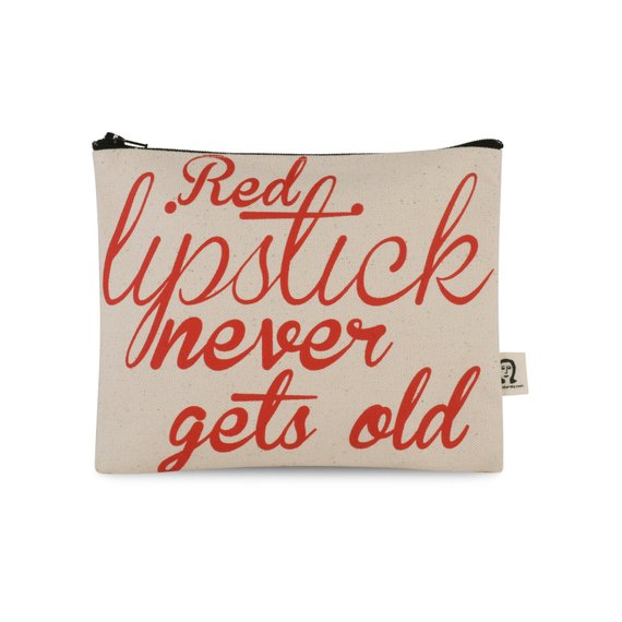 Pamela Barsky Pouch - $17 - Pamela BarskyPamela Barsky's bags are witty, sassy, & extremely high quality & the size is perfect to drop in your purse or carry-on to corral any must-haves. If red lipstick isn't your thing (but why?) there's plenty of other options. Grab gifts for all the ladies on your list.