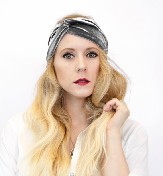 Velvet Twist Headband $14 - If Nicole had been born a few decades earlier she would have absolutely been a hollywood ingenue or classy vaudeville star. In the modern era she seems content to use her pipes for Karaoke. But that doesn't mean she can't look like a star! I think she'd look great in this velvet headband, and she might just break out into showtunes too. Bonus.